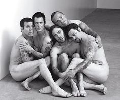 Johnny Knoxville and the cast of Jackass. Get it, fellas.
