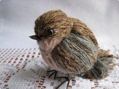 DIY Cute Yarn Birdies You Can Make in Minutes -                                                                                                                                                                                 More