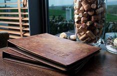 Handgefertigte Speisekarten von FLYERALARM Menu Design Menu Design, Fine Dining, Wine List, Concept, Diy, Printing