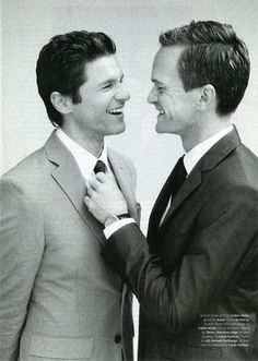 Neil Patrick Harris and David Burtka = Love!