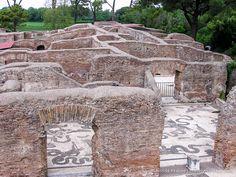Baths of Neptune- Ostia Antica, Italy
