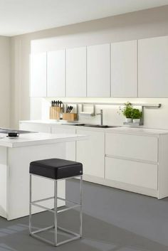 Küche in Weiß: matt oder glänzend? Was ist besser | Oder