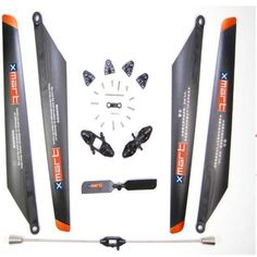 Double Horse 9053 Replacement Parts Kit, Blades, Blade Grips, Tail Rotor, Balance bar.  Price:$6.32
