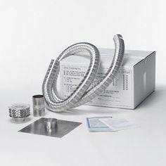 "Shelter ShelterPro Aluminum Liner and Kit Size: 5.5"" H x 5.5"" W x 420"" D"