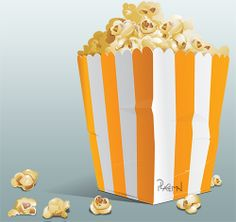 Popcorn Popcorn, Bookends, Decoration, Food, Home Decor, Decor, Decoration Home, Room Decor, Essen