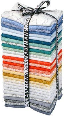 Fat Quarter Bundle Botanics Full Collection, 31 Pieces, Carolyn Friedlander, Robert Kaufman Fabrics, 100% Cotton Fabric