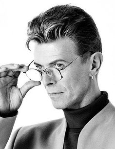 Professor Bowie is either impressed with your bravura response to his lecture or he's telling you to shut up.