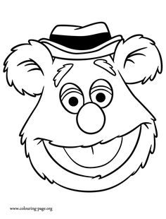 Coloring Pages Muppets 04 Muppet Babies Free Printable Super Coloring Pages, Baby Coloring Pages, Online Coloring Pages, Halloween Coloring Pages, Disney Coloring Pages, Coloring Pages For Kids, Coloring Books, Muppet Babies, The Muppets