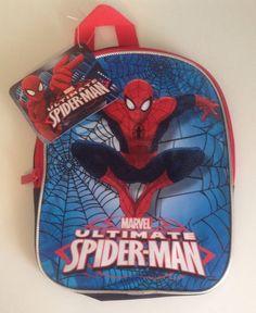 THE ULTIMATE SPIDER-MAN BACKPACK/BAG ✨Mini-Backpack- Young Grades✨MARVEL #DISNEYSTORE #Backpack