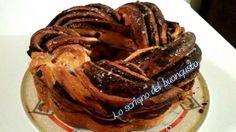BABKA (EUROPA ORIENTALE)                                 CLICCA QUI PER LA RICETTA  http://loscrignodelbuongusto.altervista.org/babka/                                                                       #babka #Pasqua #ricettetipiche #ricettedolci #lievitati #cioccolato #cucinainternazionale