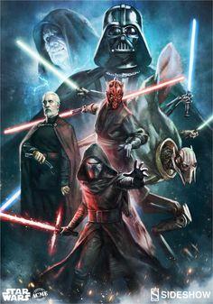 The Light Saber-Wielding Villains of the Star Wars Saga