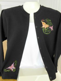 Handcrafted ladies sweatshirt jackets. Your favorite cozy sweatshirt with the style and handcrafted quality of a boutique sweater.