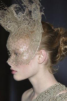 Philip Treacy Lace Masks