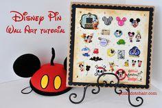 Disney Trading Pins, display idea, DIY, disneyworld, what to do with disney pins, souvenir display ideas, disney souvenir, DIY Trading Pins