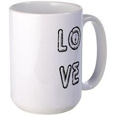 LOVE MUSIC Mugs on CafePress.com