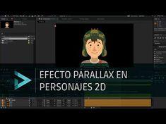 Tutorial: Efecto parallax en personajes en After Effects Motion Design, Character Rigging, Animation Character, Photoshop, Adobe After Effects Tutorials, Software, After Effect Tutorial, User Interface, Motion Graphics