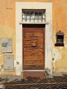 Door with shrine.