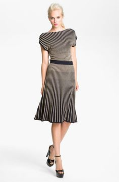 MARC BY MARC JACOBS 'Paulina' Sweater Dress $298 - way too expensive for me, but I LOVE the shape of this dress!