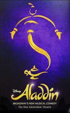 Discover a whole new world at Disney's Aladdin, the hit Broadway musical. From the producer of The Lion King comes the timeless story of Aladdin, a thrilling new production filled with unforgettable beauty, magic, comedy and breathtaking spectacle. Aladdin Musical Broadway, Aladdin Disney Movie, Broadway Musicals, Aladdin Show, Broadway Theatre, Musical Theatre, Broadway Shows, Disney Movies, Broadway Posters