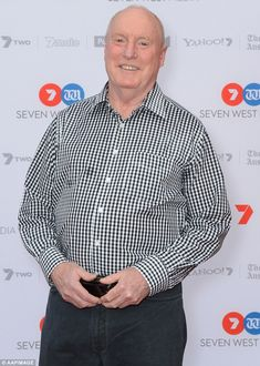 Home And Away's Ray Meagher believes the show has become too risque Home And Away, Believe, Two By Two, Actors, Mens Tops, Boys, Summer, Baby Boys, Summer Time