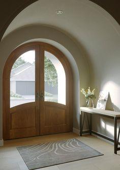 Double Doors Interior, Interior Door, Cob House Interior, Church Interior Design, Interior Ideas, Interior And Exterior, Dream Home Design, House Design, Hacienda Style Homes