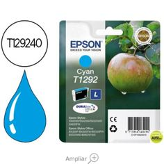 INK-JET EPSON STYLUS T1292 CIAN SX420W / 425W / OFFICE BX305F /