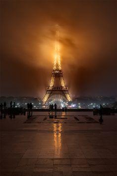 Foggy Night ~ Paris