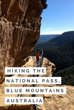 Tips for Hiking the National Pass Blue Mountains in Australia.