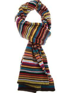 PAUL SMITH - striped scarf 4