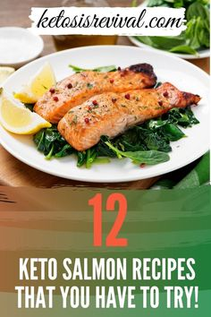 Salmon is versatile, delicious, and should be top on your Keto diet shopping list. Ketosis Revival shows you 12 distinct ways to prepare salmon that will keep you coming back for more. Switching up the ingredients will deliver a distinct flavor each and every time. This fish contains all the healthy fats that support a Keto food plan. It is low on carbohydrates and can be cooked in a number of ways. Each dish will leave you wanting for more. Find out more… #salmon #ketosalmon #salmonrecipes Keto Salmon, Keto Recipes, Healthy Recipes, Salmon Recipes, Healthy Fats, Meal Planning, Keto On The Go, Yummy Food, Tasty