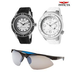 Invicta & Swiss Legend Men's Specialty Watches + Columbia Sunglasses