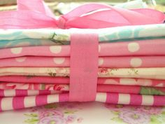 colorful napkins/tablecloths for parties.