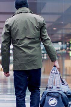 Alvra Hooded Hardshell Jacket for Men Jacket Men, Hooded Jacket, Urban Chic, Hoods, Lifestyle, Sports, Jackets, Outdoor, Collection