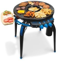 Portable Grill.  Awesome for camping or tailgating.  So many features on this grill.