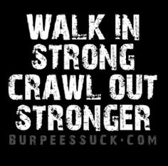 BurpeesSuck.com Rock your Crossfit WOD with Burpees Suck Gear.