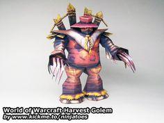 World of WarCraft Harvest Golem