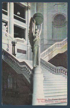 Postcards - United States #  857 - The Capitol Theatre, Harrisburg, Pennsylvania