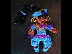 Princess JASMINE. Original design and loomed by LQ Desings. Click photo for YouTube tutorial.
