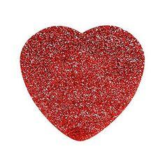 Tatty Devine Glitter Heart Brooch