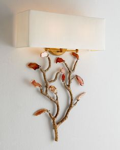John-Richard Collection Agate Wall Sconce - Horchow
