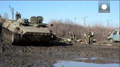Los combates marcan las horas previas al alto el fuego en Ucrania