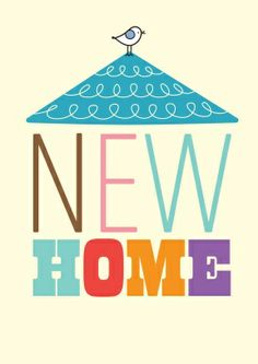 New Home chick |Mrs Booth Card