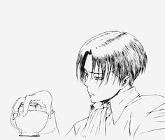 Anime Lineart, Levi X Petra, Horse Face, Attack On Titan Anime, Jeff The Killer, Aesthetic Art, Photos, Pictures, Anime Guys