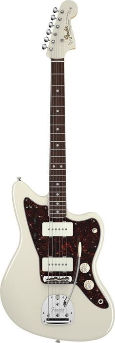 Fender American Vintage '65 Jazzmaster Electric Guitar The American Vintage '65 Jazzmaster takes you back to the middle of that musically momentous decade, when the reverb-drenched surf had largely re                                                                                                                                                      More