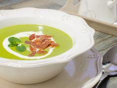 Crema de guisantes con hierbabuena | Cookinaria | Recetas Mycook