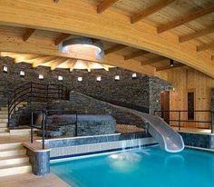 indoor hot tubs   Groovy indoor pool   Pools and Hot Tubs