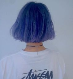 Cool Short Hairstyles, Pretty Hairstyles, Short Hair Back View, Hair Color Dark, Dye My Hair, Aesthetic Hair, Grunge Hair, Green Hair, Short Hair Cuts