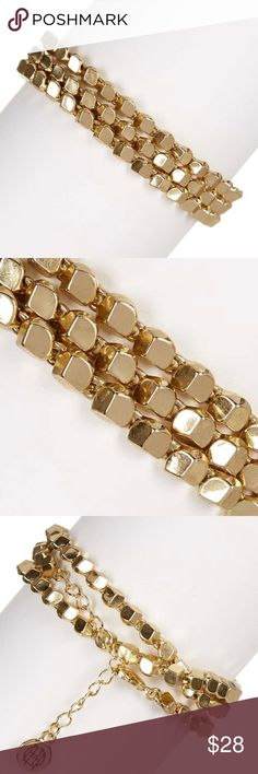 """🆕Gold tone House of Harlow wrap bracelet See above detailed description. More jewelry in """"jewelry and accessories"""" section of my closet. Brand new item. Please, only, fair, reasonable offers. Bundle two or more items and save 15%. Happy to answer any questions from serious buyers. House of Harlow 1960 Jewelry Bracelets"""