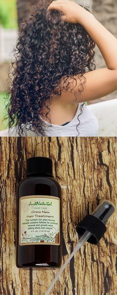 I am using this grow new hair treatment as a leave in at night before I wash my hair, need to really rub it into your scalp and massage it for at least 1 minute, it made my hair grow an inch and a half in one month -an advice- I use this treatment in the Itchy Scalp Hair Loss, Grow Hair, Men's Hair, Just Natural Products, Curly Hair Styles, Natural Hair Styles, Stop Hair Loss, Vitis Vinifera, Healthy Hair Growth