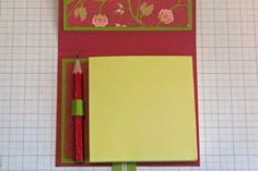 Splitcoaststampers - Paper Post-It™ Note Holder Project Tutorial by Makeesha Byl
